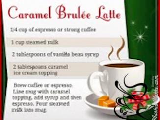 Starbucks DIY Caramel Brûlée Latte