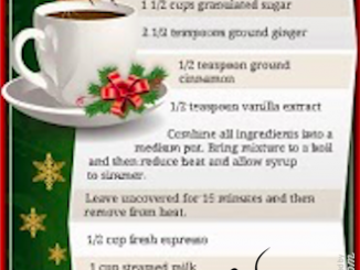 Starbucks DIY Gingerbread Latte