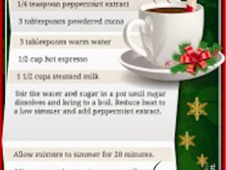 Starbucks DIY Peppermint Mocha