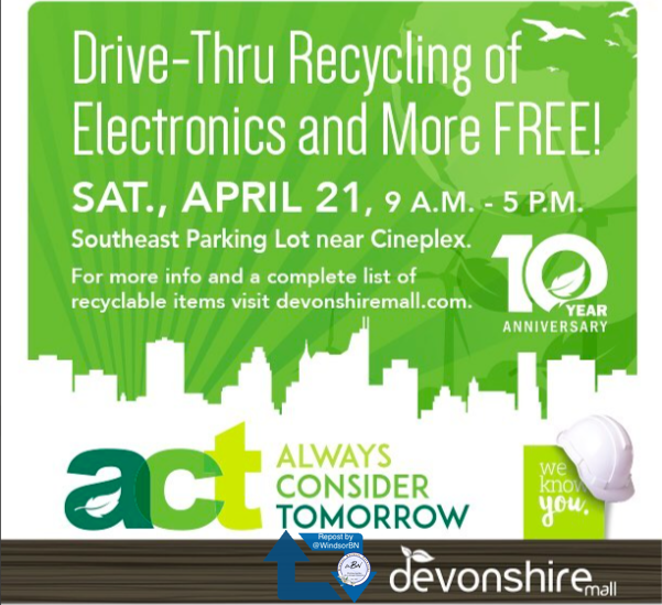 ACT Recycling at Devonshire Mall