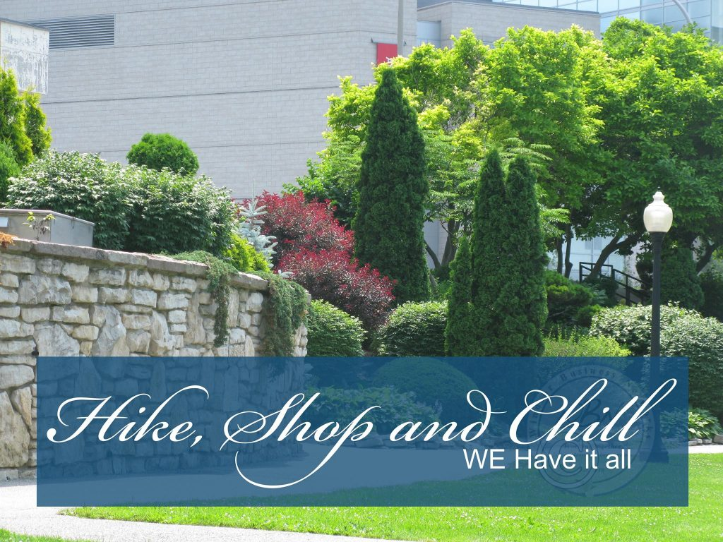 Hike Shop and Chill in Windsor Ontario